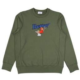 Better Angel / Devil Crewneck Sweat - Green