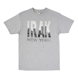 IRAK Towers T-Shirt - Grey