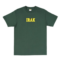 IRAK Box Logo T-Shirt - Forest