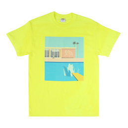 IRAK Splash T-Shirt - Yellow