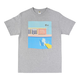 IRAK Splash T-Shirt - Heather Grey