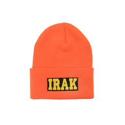 IRAK Logo Beanie - Athletic Orange