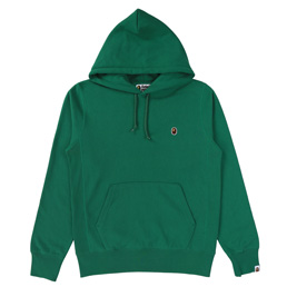 BAPE One Point Pullover Hoodie - Green