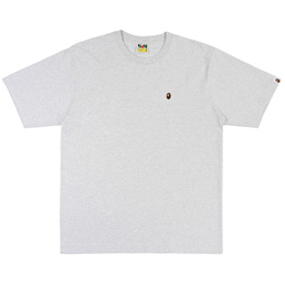 BAPE® Ape Head One Point Relax T-Shirt- Grey