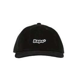 BAPE® Corduroy Panel Cap- Black