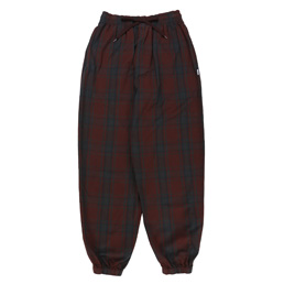 WTAPS Frock Trousers Cotton Poplin Textile - Red