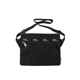 WTAPS Sling / Bag. Nylon - Black
