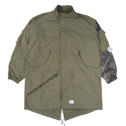 WTAPS W51 / Jacket. Cotton. Weather - Olive Drab