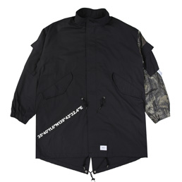 WTAPS W51 / Jacket. Cotton. Weather - Black