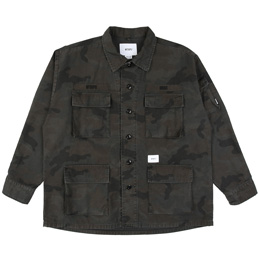 WTAPS Jungle LS 02 Shirt - Woodland