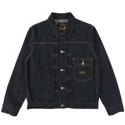 NH Stockman Type-A Jacket - Indigo