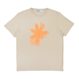 Affix Circuit Board T-Shirt- Taupe