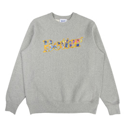 Better Taj Fleece Crewneck- Gray