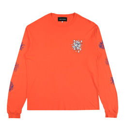 BC Say It With Flowers L/S T-Shirt- Orange