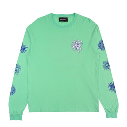 BC Say It With Flowers L/S T-Shirt- Mint
