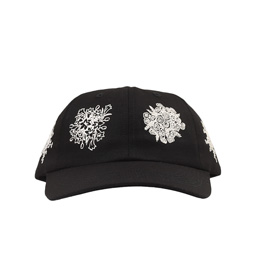 BC Say It With Flowers 6-Panel Hat- Black