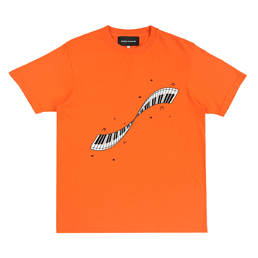 Bianca Chandon Musical Twist T-Shirt- Orange