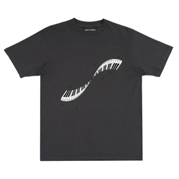 Bianca Chandon Musical Twist T-Shirt- Charcoal