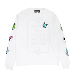 Bianca Chandon Love Like This L/S T-Shirt- White