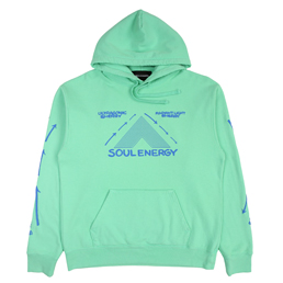 Bianca Chandon Soul Energy Pullover Hood- Mint