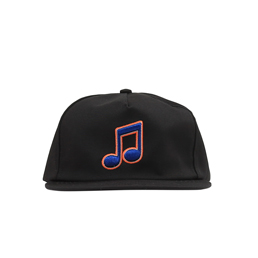 Bianca Chandon Music Hat- Black