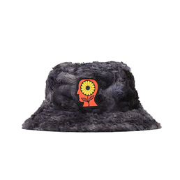 Brain Dead Reversible Sunflower Bucket Hat- Char