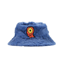 Brain Dead Reversible Sunflower Bucket Hat- Blue