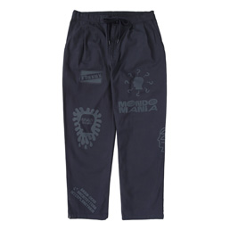 Brain Dead Printed Climber Pant - Navy