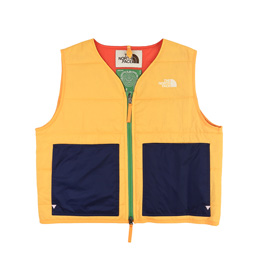 Braindead x TNF 68 Sierra Vest- Yellow