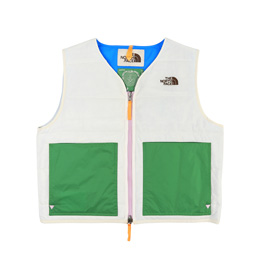 Braindead x TNF 68 Sierra Vest- White