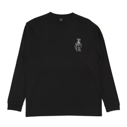 Brain Dead Struggles L/S T-Shirt- Black