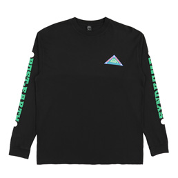 Brain Dead Post Earth L/S T-Shirt- Black