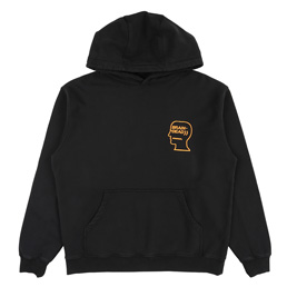 Brain Dead Lover's Embrace L/S Sweatshirt- Black