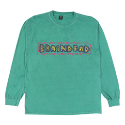 Braindead One Who Shouts L/S T-Shirt - Green