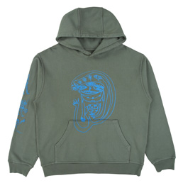 Braindead P&TY Hooded Sweatshirt - Green