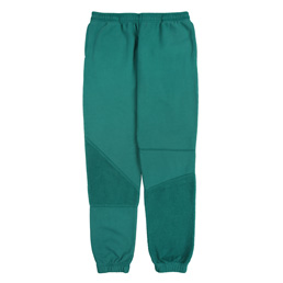 Brain Dead Logo Head Paneled Sweatpant- Teal
