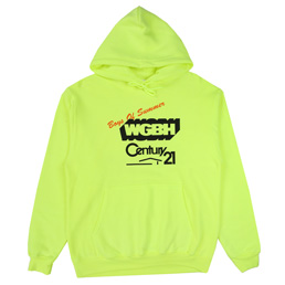 BOS WGBH Hooded Sweatshirt - Safety Green