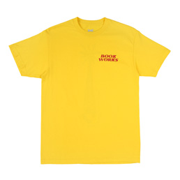 Book Works WMP SS T-shirt - Yellow