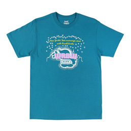 Book Works WRBW SS T-shirt - Teal