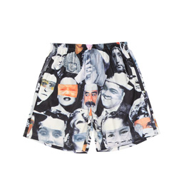 FA Jersey Mesh Shorts - Faces Collage
