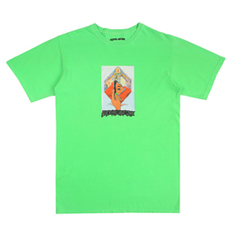 FA Dill Mirror Painting T-Shirt- Neon Green