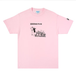 G5 Boiled SS T-Shirt - Pink