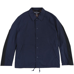 CDGH Tussah x Nylon Back Satin Jacket- Navy