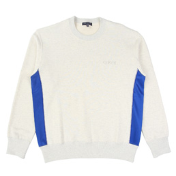CDGH Cotton Back Poly. Jersey LS T-Shirt - Ivory