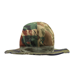South2 West8 Crusher Hat- Crazy Camo