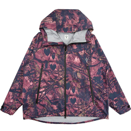 South2 West8 Weather Effect Jacket- Pink Camo