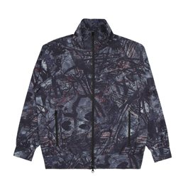 South2 West8 Trainer Jacket- Grey
