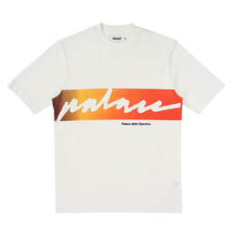 Palace Catch Das Fade T-Shirt - White