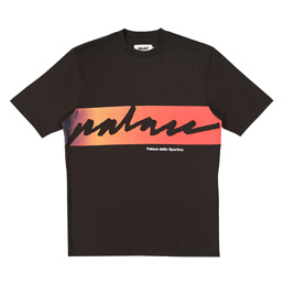 Palace Catch Das Fade T-Shirt - Black