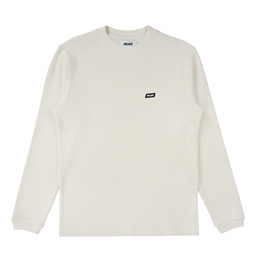 Palace Waffle On LongSleeve - Off White